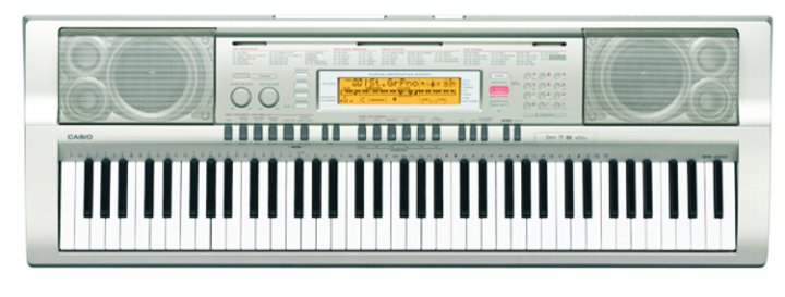 casio wk 200 76 key full size portable keyboard. Black Bedroom Furniture Sets. Home Design Ideas