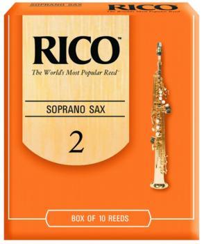 Rico Soprano Sax Reeds, 10 Per Box (RI-MTR-731R)