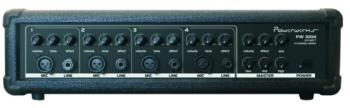 Powerwerks 100 Watt 4 Channel P.A. Mixer (OW-PW100H)