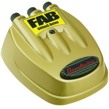 Danelectro D-8 Fab 600ms Delay Effects Pedal (DN-D8)