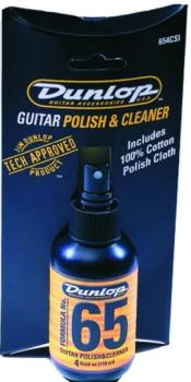 Dunlop Formula No. 65 Polish & Cleaner with Cloth (DU-654C)