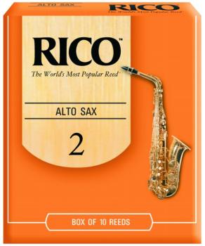 Rico Alto Sax Reeds, 10 Per Box #2 (RI-RJA1020)