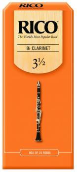 Rico Bb Clarinet Reeds, 25 per Box, #3 1/2 (RI-RCA2535)