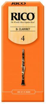 Rico Bb Clarinet Reeds, 25 per Box, #4 (RI-RCA2540)