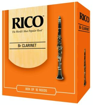 Rico® Bb Clarinet Reeds, #2 1/2, 10 Per Box (RI-RCA1025)
