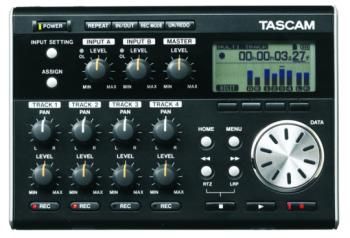 Tascam Compact 4-Track Digital Pocketstudio (TS-DP004)