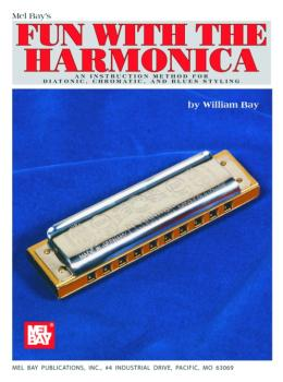 "Mel Bay ""Fun With"" Harmonica Instruction Book (MB-93305)"
