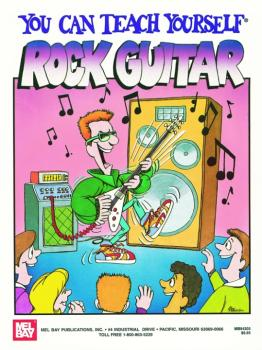 "Mel Bay ""You Can Teach Yourself"" Rock Guitar Book (MB-94305BCD)"