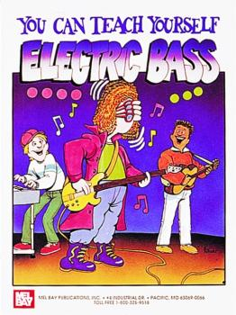 "Mel Bay ""You Can Teach Yourself"" Electric Bass Book (MB-94358)"