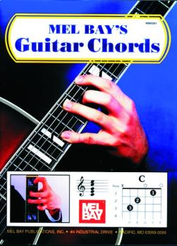 Mel Bay Guitar Chord Instruction & Guide (MB-93261)