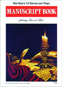 Mel Bay Manuscript Book (MB-93303)