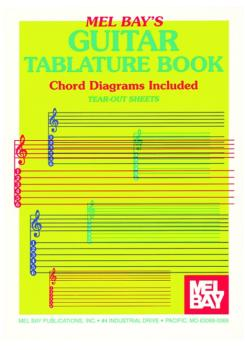 Mel Bay Guitar Tablature Book (MB-93451)
