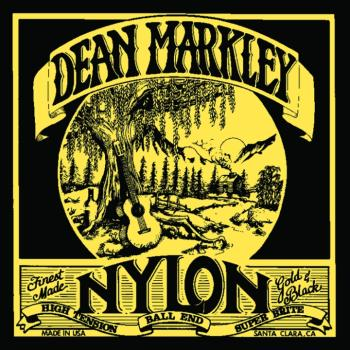 Dean Markley Classical Guitar Strings, High Tension, Ball End (28 - 42) (DM-2802DM)