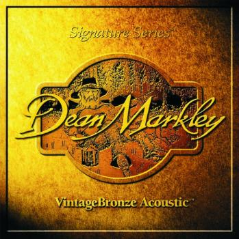 Dean Markley Vintage Bronze 12 String Acoustic Guitar Strings, Light (9 - 46) (DM-2202)