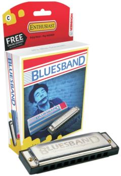 Hohner Blues Band -10 Hole, Key of C (HH-1501)