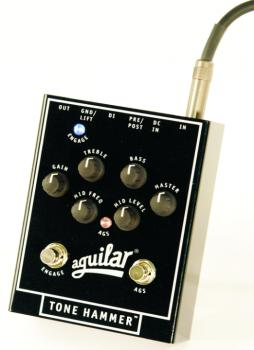 Aguilar Tone Hammer Preamp/Direct Box Bass Effects Pedal (AI-TONEHAMMER)