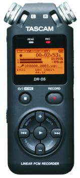 Tascam Portable Handheld Recorder (TS-DR05)