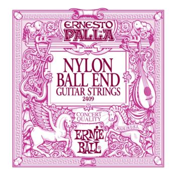 Ernie Ball Ernesto Palla Nylon Black & Gold Classical Guitar Strings (EB-2409)