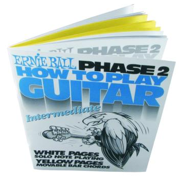 Ernie Ball How To Play Guitar Phase 2 Book (EB-7002)