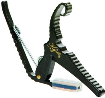 Kyser Quick-Change 6 String Capo, Black (KG6B)