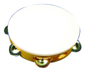 "Value Series 8"" Plastic Single Row Tambourine (VL-4900)"