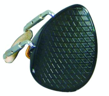 Value Series Deep Ribbed Violin Chinrest, 4/4 (VL-400P)