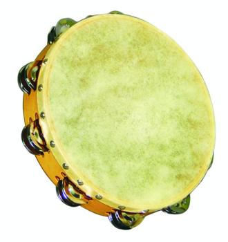 Value Series Skin Head, Double Row Tambourine (VL-4036)
