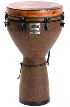 "Remo Key-Tuned Djembe, 16"" x 25"" Fabric Earth Finish (RM-DJ001605)"