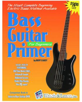 Watch & Learn Bass Guitar Primer Book w/ Audio CD (WL-BGP)