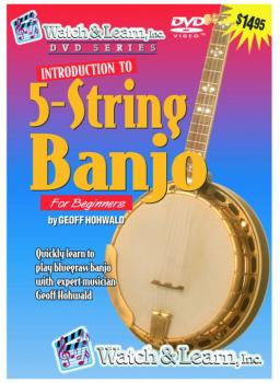 Watch & Learn Intro to Banjo DVD (WL-BPD)