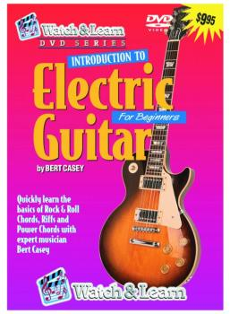 Watch & Learn Intro to Electric Guitar DVD (WL-EVD)