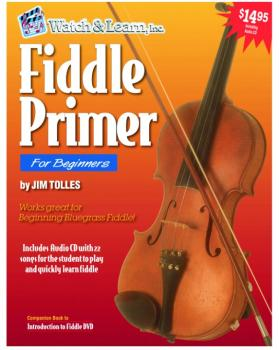 Watch & Learn Fiddle Primer Instruction Book with Audio CD (WL-FIP)