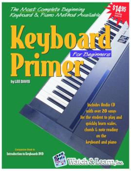 Watch & Learn Keyboard Primer Instruction Book with Audio CD (WL-KP)