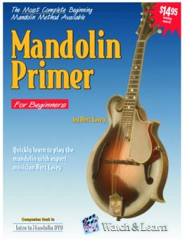 Watch & Learn Mandolin Primer Instruction Book (WL-MP)