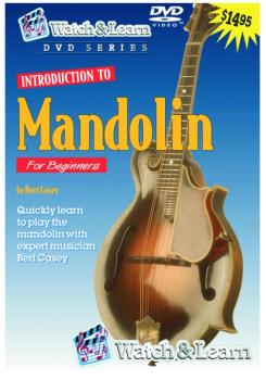 Watch & Learn Intro to Mandolin DVD (WL-MPD)