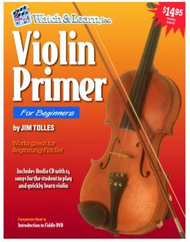 Watch & Learn Violin Primer Instruction Book with Audio CD (WL-VP)