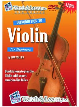 Watch & Learn Intro to Violin DVD (WL-VVD)