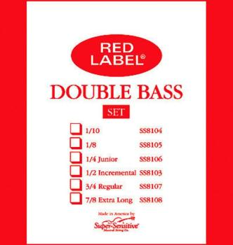 Super Sensitive Regular Tone Bass String Set (SU-0018107)
