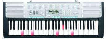 Casio 61 Key Lighted Keyboard w/ Karaoke Function (CS-LK280)