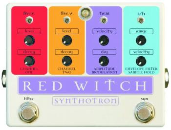 Red Witch Synthotron Effects Pedal (RW-SYNTHOTRON)