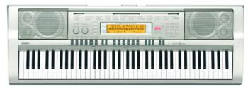 Casio WK-200 76 Key Full Size Portable Keyboard (CS-WK225)