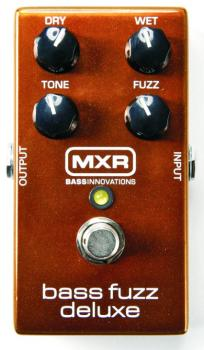 MXR Bass Fuzz Deluxe Effects Pedal (MX-M84)