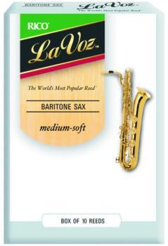 La Voz Bari Sax Reeds, 10 Per Box (LV-MTR-807L)