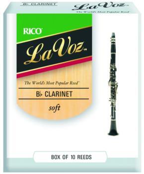 La Voz Bb Clarinet Reeds (LV-MTR-1281L)