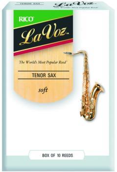 La Voz Tenor Sax Reeds, 10 Per Box (LV-MTR-806L)