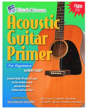 Watch & Learn Acoustic Guitar Primer with Audio CD (WL-AGP)