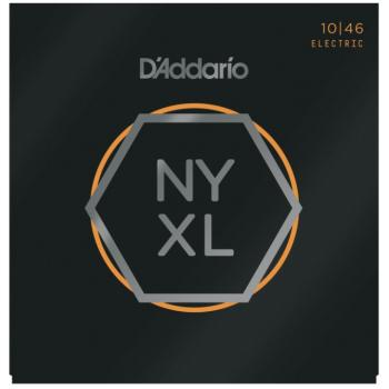 D'Addario NYXL Nickel Wound Electric Guitar Strings, Regular Light (DD-NYXL1046)