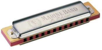 Hohner 12 Hole Marine Band Harmonica (HH-MTR-HH364)