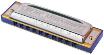 Hohner Blue Midnight Harmonica (HH-MTR-595BL)