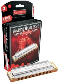 Hohner Marine Band Harmonica (HH-MTR-HH1896BL)
